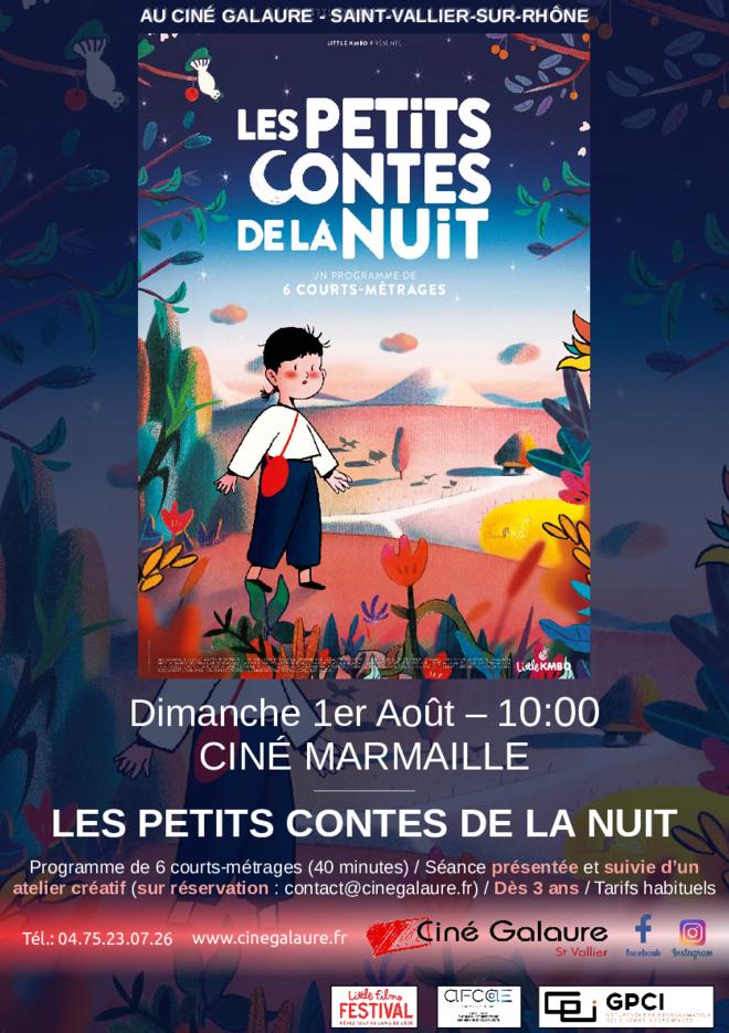 Ciné Marmaille - LES PETITS CONTES DE LA NUIT
