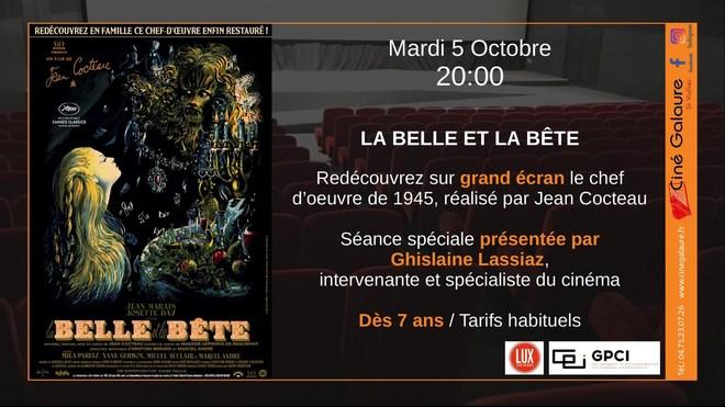 LA BELLE ET LA BÊTE - 05/10/2021 - 20h00