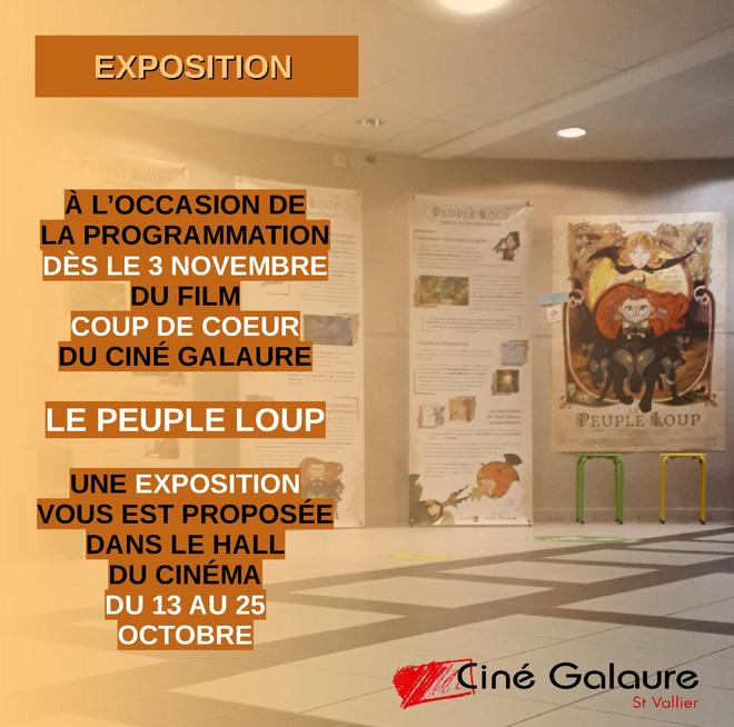 Exposition LE PEUPLE LOUP