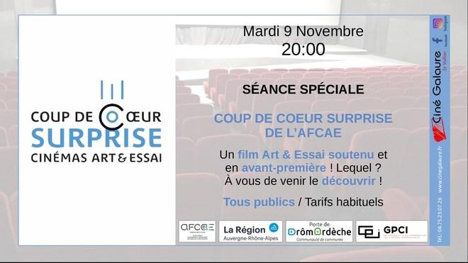 COUP DE COEUR SURPRISE AFCAE - 09/11/2021 - 20h00