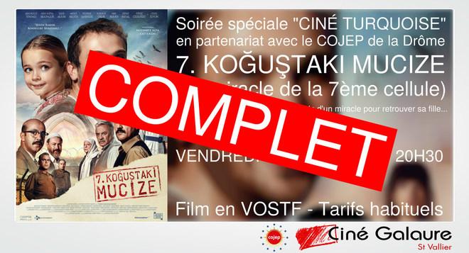 """[COMPLET] Soirée spéciale """"Ciné Turquoise"""" - 7, KOGUSTAKI MUCIZE - VENDREDI 22 NOVEMBRE - 20H30"""