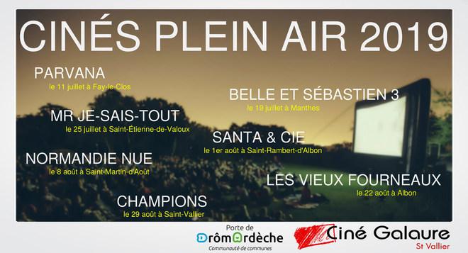 Ciné(s) Plein Air - Édition 2019