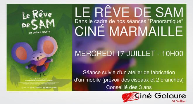 Ciné Marmaille - LE RÊVE DE SAM - Mercredi 17 juillet - 10h00